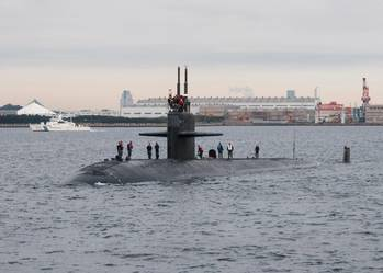 File USS City of Corpus Christi (SSN 705) Photo by  US Navy