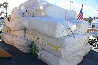 File The confiscated drugs: Photo USCG
