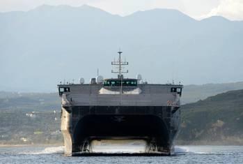 File USNS Spearhead: USN photo