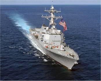 File USS Chafee: Photo courtesy of USN