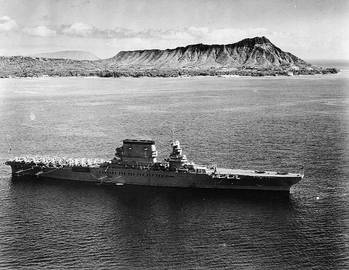 File USS Lexington (Official U.S. Navy Photograph, now in the collections of the National Archives.)