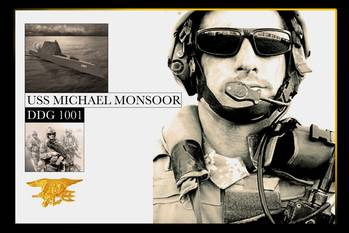 File USS Michael Monsoor illustration: courtesy of USN