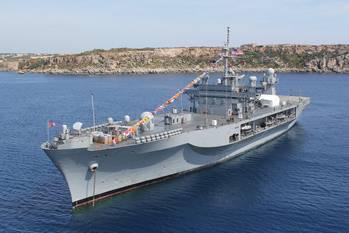 File Command ship USS Mount Whitney: Photo USN