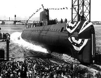 File USS Nautilus (SSN-571), photo courtesy Idaho National Laboratory