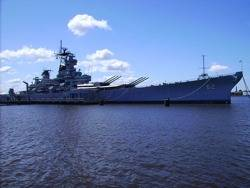 File USS New Jersey: Photo Credit Wiki CCL Wolle8ball