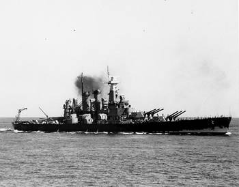 File USS North Carolina (Courtesy of the Naval Historical Foundation, Maher Collection. U.S. Naval Historical Center Photograph.)