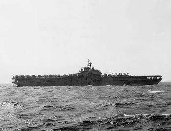 File USS Princeton (CVS-7). Official U.S. Navy Photograph, from the collections of the Naval Historical Center.