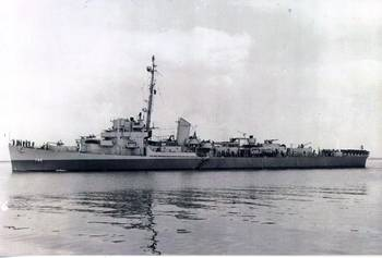 File Photo courtesy Destroyer Escort Historical Museum