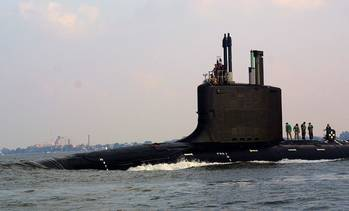 File Virginia-class submarine: Photo credit USN