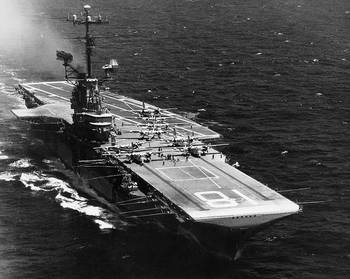 File USS Wasp (CVS-18. Official U.S. Navy Photograph, from the collections of the Naval Historical Center.