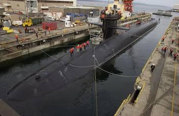 File USS Michigan: Photo credit USN