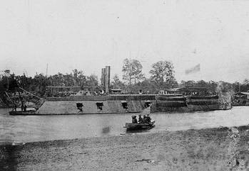 File USS Pittsburgh circa 1862 (Photo: U.S. Naval Archives)