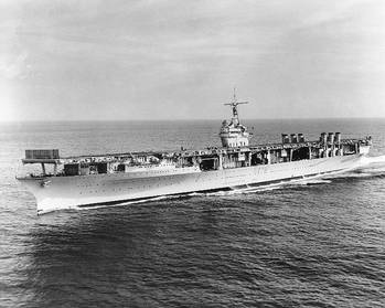 File Official Navy photo of USS Ranger (CV-4)