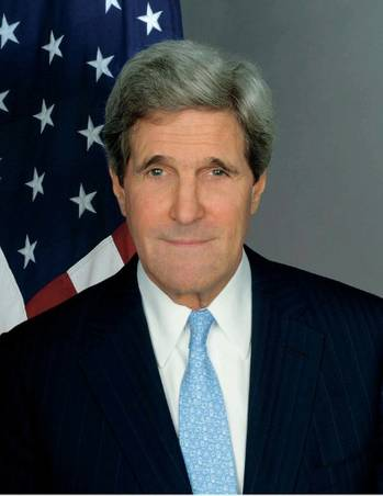 File U.S. Secretary of State John Kerrylanded in Baghdad on Monday. (Photo: http://www.state.gov)