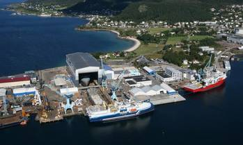 File The Ulstein Verft yard on the west coast of Norway has built 38 of the firm