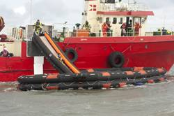 File VIKING fully automatic liferaft and slide system