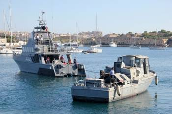File Swift-class Patrol Boat for Restoration Project: Photo credit Maritime Museum of San Diego