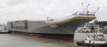 File Indian Navy Aircraft Carrier (Photo: GE)