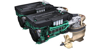 File IPS900 system: Image courtesy of Volvo Penta