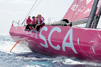 File Photo courtesy of Volvo Ocean Race