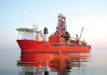 File Drillship West Navigator: Photo courtesy of Seadrill