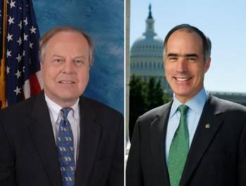 File Congressman Ed Whitfield (left) U.S. Senator Bob Casey
