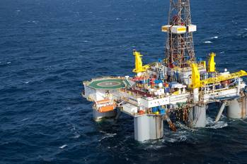 File The semi-submersible drilling rig, WilPhoenix, on which TWMA