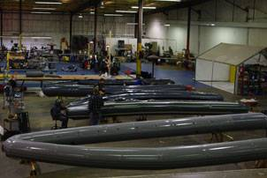 File Wing Inflatables Factory in Arcata, Calif. (Photo courtesy Wing Inflatables)