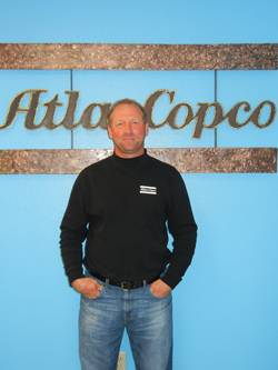 File John Wolfe: Technical Support Manager for Atlas Copco's Geotechnical Drilling and Exploration division.