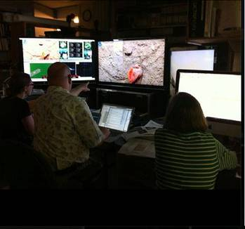 File Team Researchers: Photo courtesy of Woods Hole Oceanographic Institution