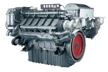 File the 12AY series High-Speed Commercial Workboat diesel engine.