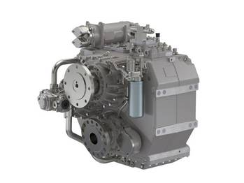 File Marine introduces the ZF 5000 series transmission (Photo: ZF Marine).