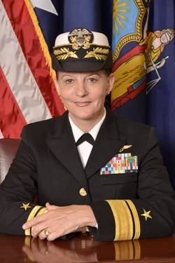 File Rear Admiral Wendi Carpenter, USMS, President, SUNY Maritime College (Photo: SUNY Maritime)