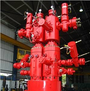 File Aker splitter wellhead system (Photo: Aker Solutions)