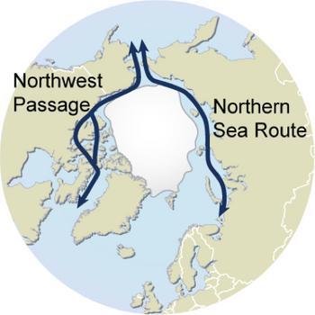 File Arctic Sea Routes: mage courtesy of UNEP