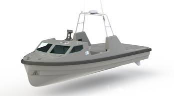 File re-configurable Unmanned Surface Vehicle (USV).