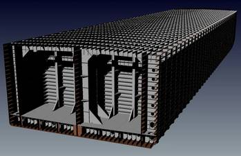 File Rendering of barge structure (Image courtesy of Murray & Associates)