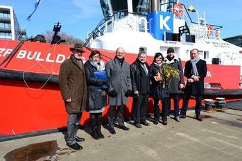 File Tugboat Bulldog Naming Ceremony: Photo credit KOTUG