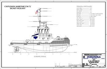 File Castleman Maritime CM-72 Signet Vigilanst (Photo: Castleman Maritime LLC)