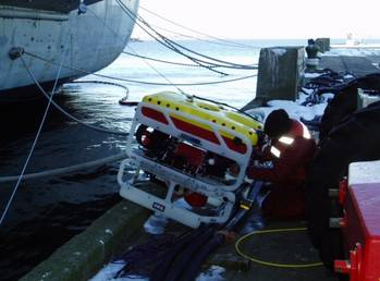 File ROV utilizing CDL subsea products (Photo: CDL)