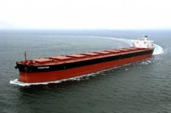 File Bulker MV Christine: Photo courtesy of Excel Maritime Carriers