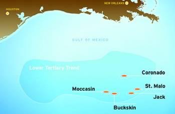 File Coronado Discovery Location: Image credit Chevron