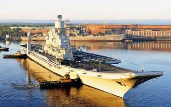 File INS Vikramaditya: Photo credit CCL Sevmash Shipyard