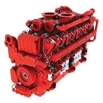 File  new QSK95 engine with 4000 hp (2983 kW) output