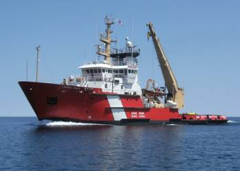File Canadian Coast Guard icebreaking vessel Samuel Risley (File photo courtesy of the Canadian Coast Guard)