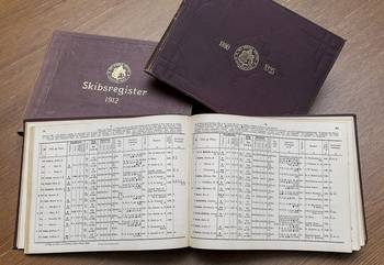 File Historic ship registers. (Photo courtesy DNV GL)