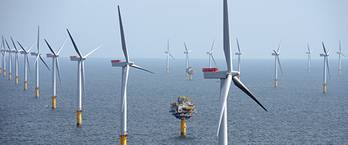 File The Sheringham Shoal Offshore Wind Farm. (Photo: Alan O