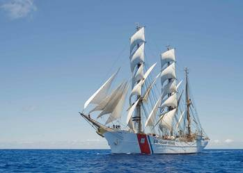 File U.S. Coast Guard Cutter Eagle (USCG photo by Erik Swanson)