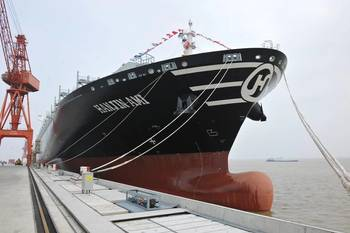 File Hanjin Ami, Yangzijiang's fourth 10,000TEU delivered June 16