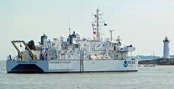 File Hassler arrives at homeport: Photo credit NOAA